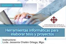 Herramientas informáticas para elaborar tesis y proyectos.